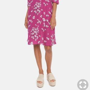 NEW • Tucker • Tiered Knee Length Skirt Tahitian
